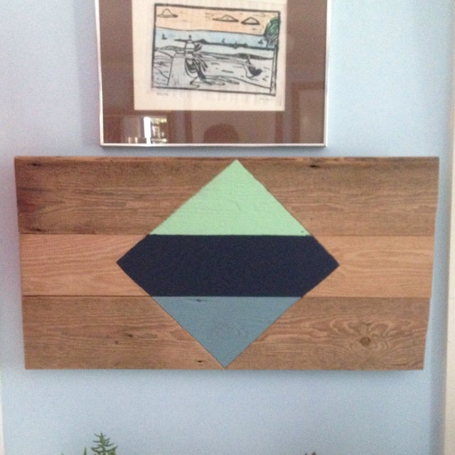 Image of Modern Nautical Reclaimed Wall Art
