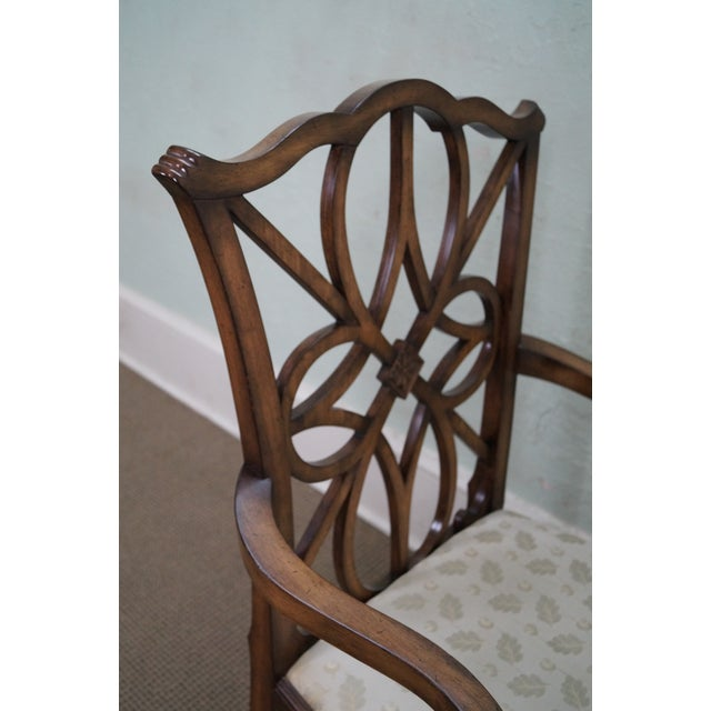 Smith & Watson Regency Style Arm Chairs - Pair - Image 5 of 10