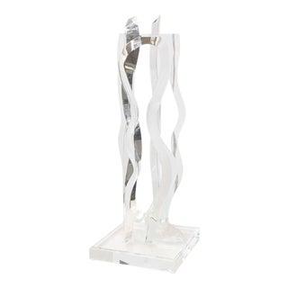 Large-Scale Hivo Van Teal Acrylic Sculpture
