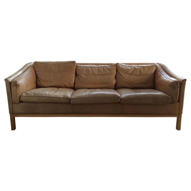 Vintage Danish 3 Seat Sofa From Stouby - Image 1 of 6