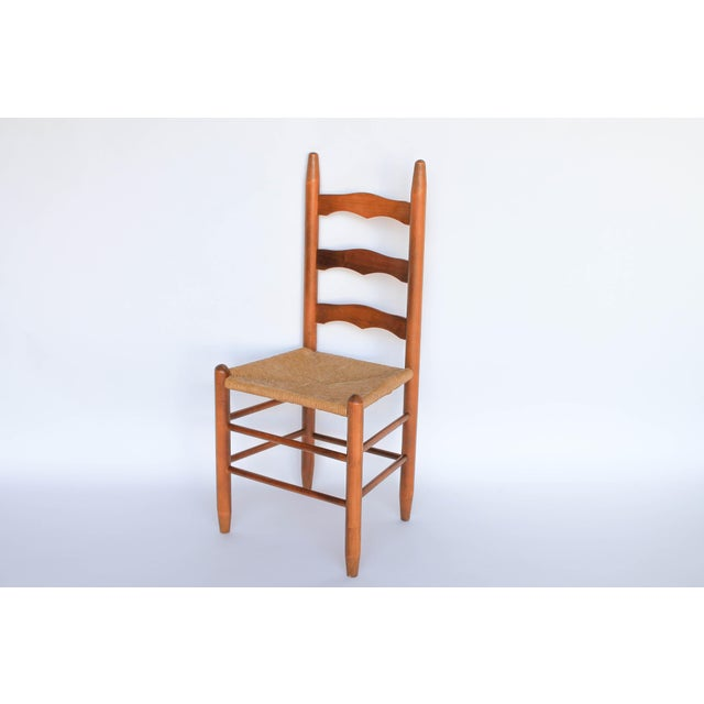 Ladder Back Dining Chairs - Set of 4 - Image 4 of 6