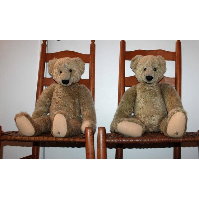 Pair of Folky Teddy Bears Made for Harrods of London - Image 2 of 8