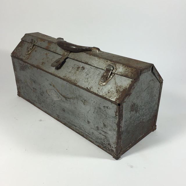 Vintage Industrial Toolbox - Image 5 of 8