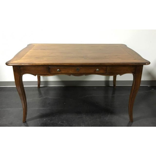 Hekman French Country Oak Writing Desk - Image 2 of 11