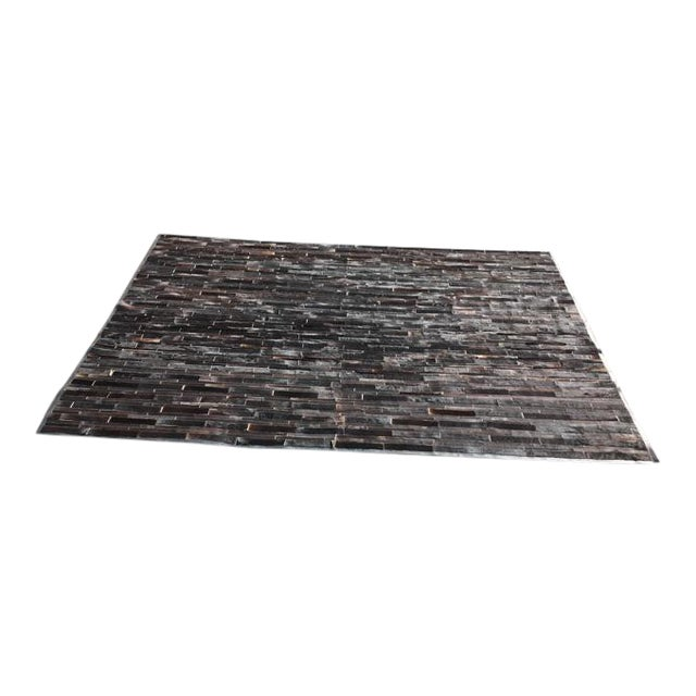 Restoration hardware south american hide area rug 8 12 for Restoration hardware rugs on sale