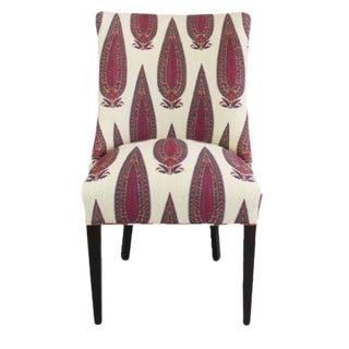 Paisley Print Uphosltered Occasional Chair