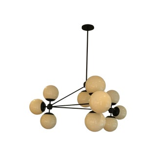 Roll & Hill Modo Chandelier - 3 Sided, 10 Globes