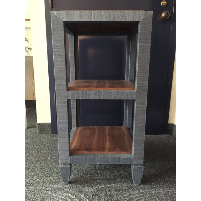 Bungalow 5 Grasscloth Side Table - Image 3 of 7