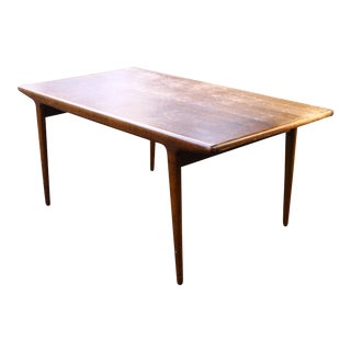 Danish Sculptural Dining Table by Johannes Andersen