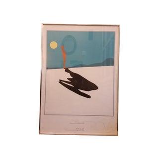 Vintage 1978 Trova Gallery Exhibit Poster