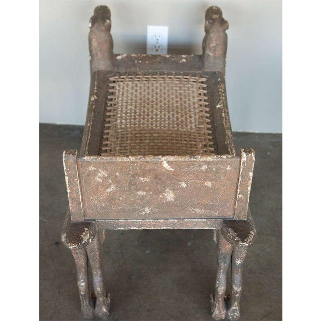 Image of Egyptian Revival Bench