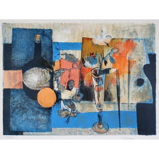 Mid-Century Abstracted Still Life
