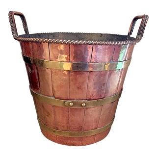 Copper & Brass Ice Bucket