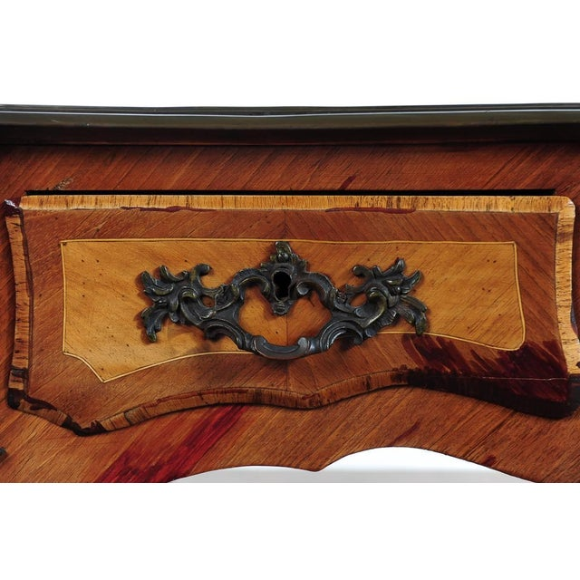 Antique Louis XV 19th Century Writing Desk - Image 8 of 8