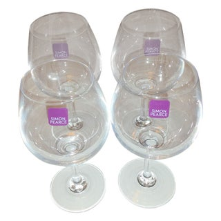Simon Pearce Hampton Wine Glasses - Set of 4