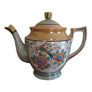 Vintage Japanese Lusterware Tea Pot