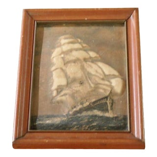 """Sail Away"" Framed Painting"
