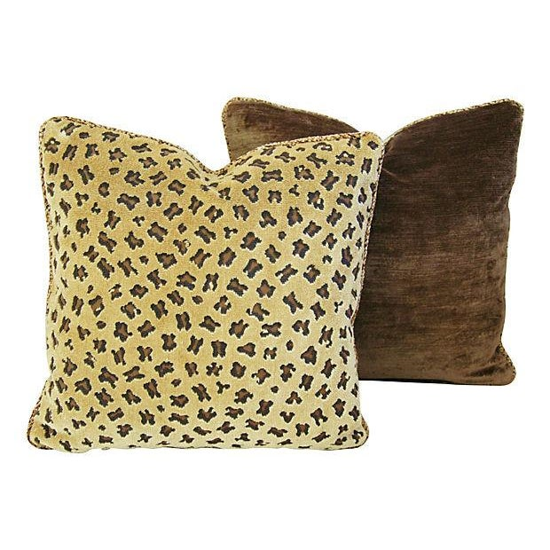 Rogers & Goffigon Gattopardo Pillows - A Pair - Image 5 of 8