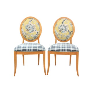 Ethan Allen Mid-Century Accent Chairs - Set of 2