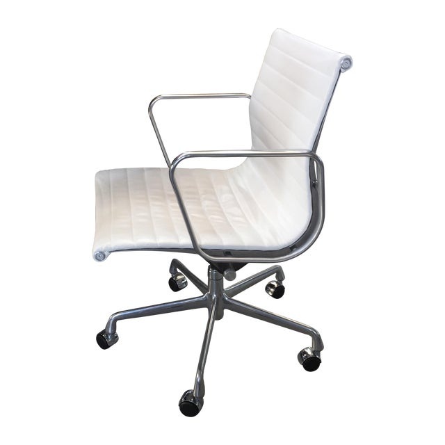 Eames Management Chair In Ivory Chairish