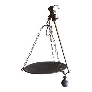 Italian Antique Hanging Market Scale