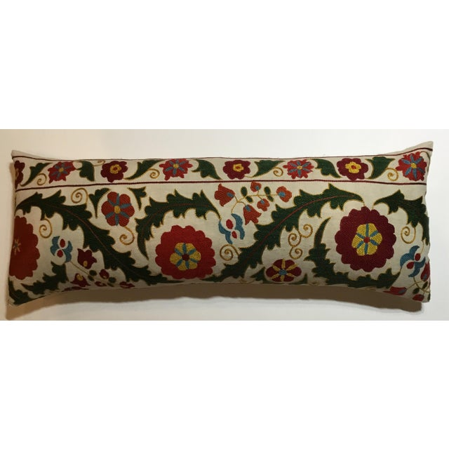 Hand Embroidery Vintage Suzani Pillow - Image 3 of 9
