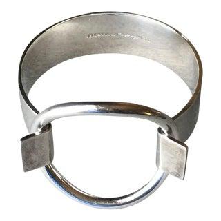 Hans Hansen Sterling Silver Ring Bracelet by Bent Gabrielsen