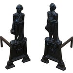 Image of George Washington Andirons- A Pair