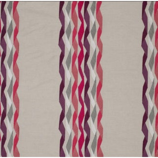 Carnival Stripe Fuchsia Fabric - 3 Yards