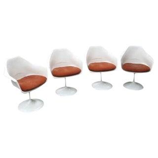 Saarinen Style Tulip Armchairs - Set of 4