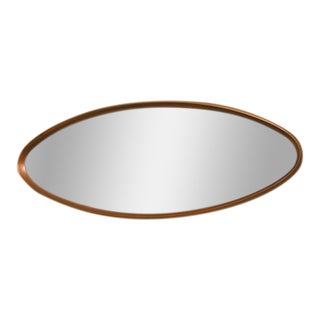 La Barge Gilt Wood Oval Mirror