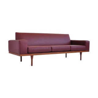 Illum Wikkelsø Leather Sofa