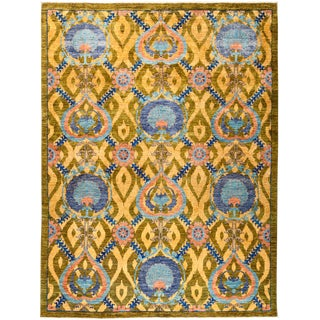 "Suzani Hand Knotted Area Rug - 8'1"" X 10'5"""