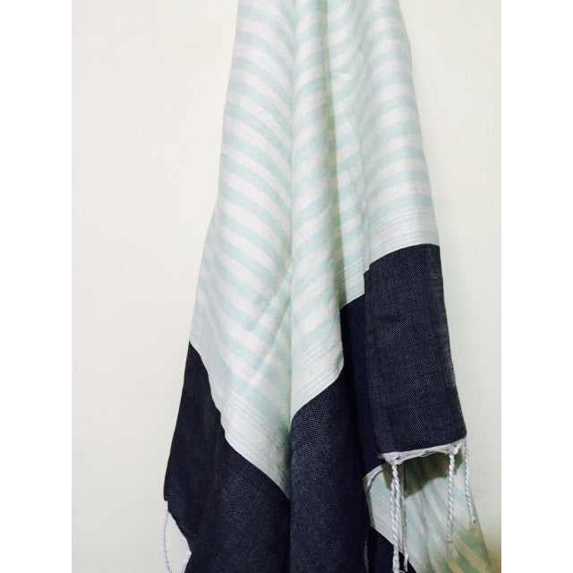 Hand Loomed Moroccan Towel - Image 3 of 3