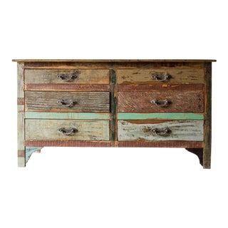 Nectar 6 Drawer Patchwork Reclaimed Dresser