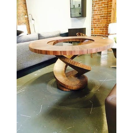 """Oggetti """"Fleur Dao"""" Twisted Base Table - Image 2 of 6"""