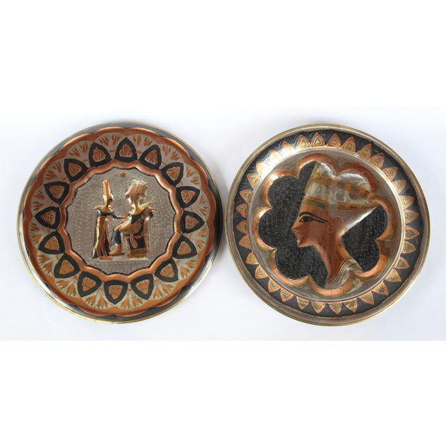 Decorative Egyptian Wall Plates - Image 2 of 10