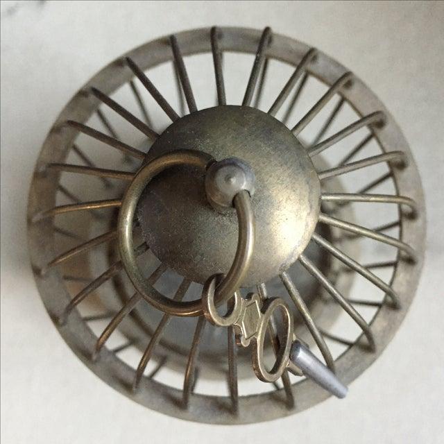 Image of 1800's Bird Cage Clock