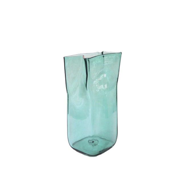 Blenko Paper Bag Vase - Image 1 of 4