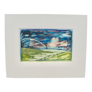 Gabritchewsky Expressionist 1935 Landscape Painting