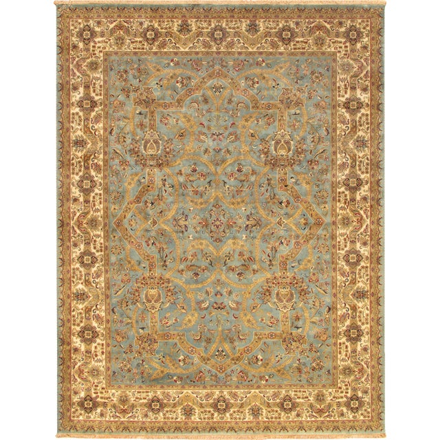 "Pasargad Tabriz Collection Rug - 6'3"" x 9' - Image 1 of 2"
