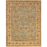 """Image of Pasargad Tabriz Collection Rug - 6'3"""" x 9'"""