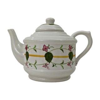 Contemporary Portuguese 8-Cup Teapot