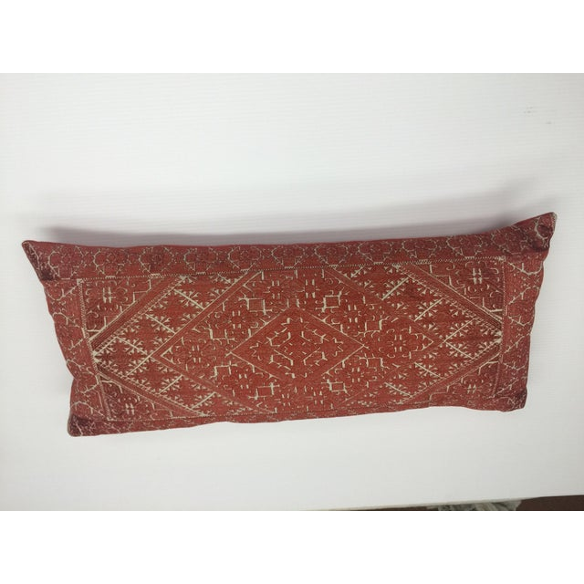 Image of Amelia Dilk Embroidered Pillow