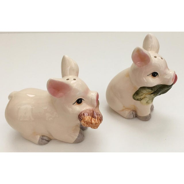 Pig Salt & Pepper Shakers - A Pair - Image 4 of 6