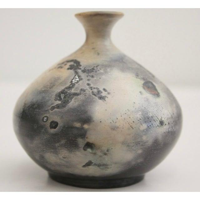Image of Artisan Signed Diminutive Glazed Pottery
