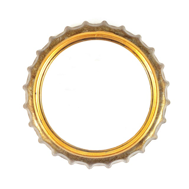 Image of Bottle Cap Wall Mirror