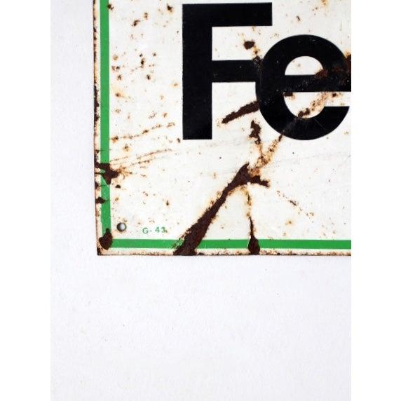 Vintage Nutrena Feeds Metal Sign - Image 4 of 5