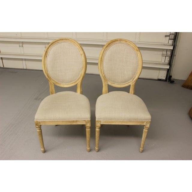 Louis XVI Ballard Design Chairs - Pair - Image 2 of 5