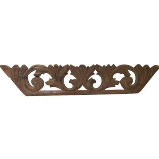 French Carved Architectural Fragment